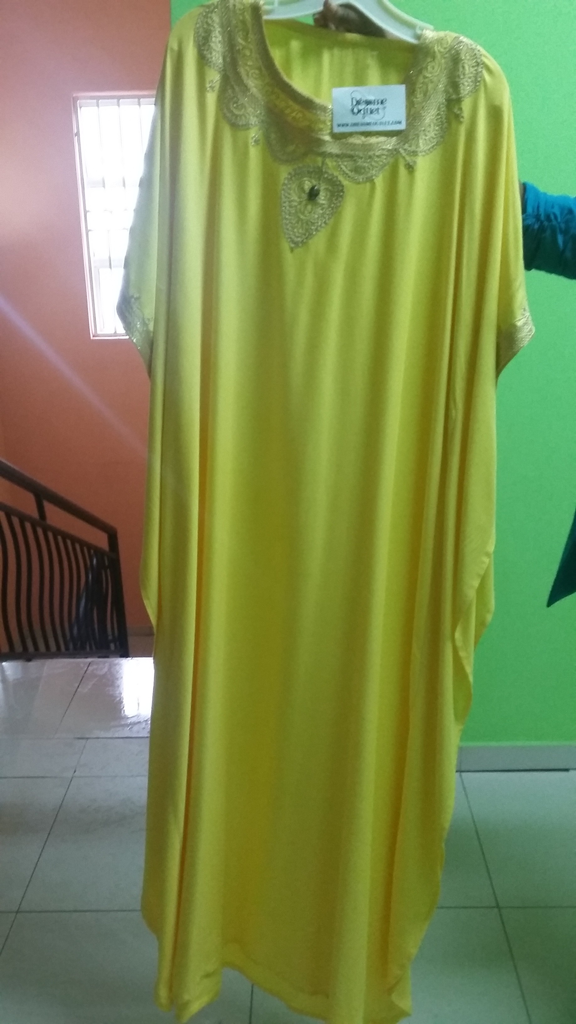 That's it -my yellow long dress
