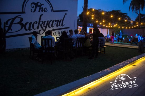 The Backyard Bar and Grill